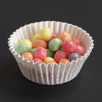 White Fluted Bake Cups - 3.5 Inches