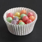 3.5 Inch White Fluted Bake Cups - 10,000 Count