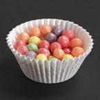 4.5 Inch White Fluted Bake Cups - 10,000 Case Count