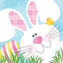 Easter Bunny Beverage Napkins