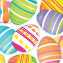 Easter Egg Beverage Napkins