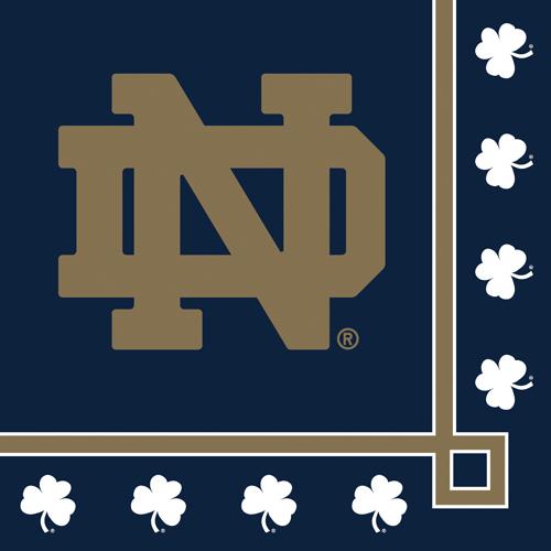 Notre Dame Beverage Napkins