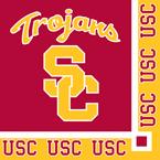 USC Trojans Beverage Napkins