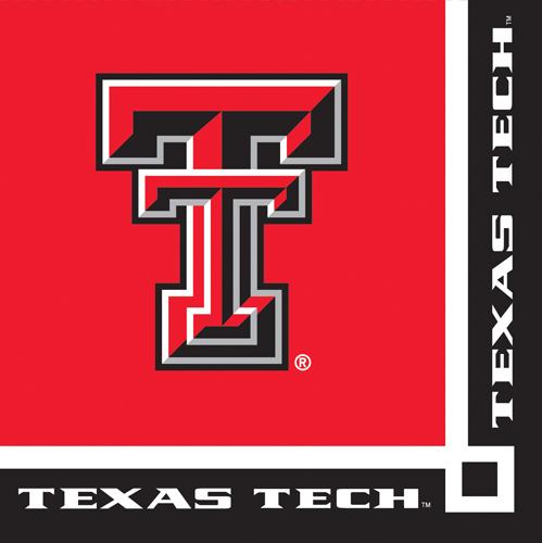 Texas Tech University Beverage Napkins