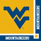 University of West Virginia Beverage Napkins