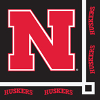 University of Nebraska Beverage Napkins