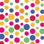 Bright Dots Paper Luncheon Napkins