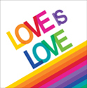 Rainbow Love Luncheon Napkins