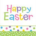 Happy Easter Paper Luncheon Napkins