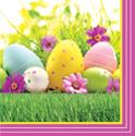 Easter Garden Paper Luncheon Napkins