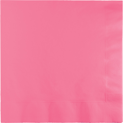 Candy Pink Luncheon Napkins - 600 Count