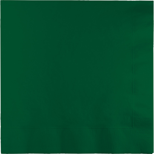 Hunter Green Luncheon Napkins - 600 Count