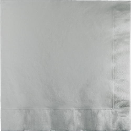 Silver Gray Luncheon Napkins - 600 Count