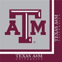 Texas A&M Luncheon Napkins