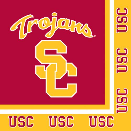 USC Trojans Luncheon Napkins
