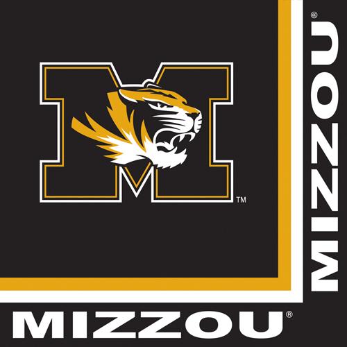 University of Missouri Luncheon Napkins