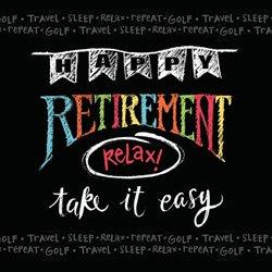 Chalkboard Retirement Luncheon Napkins