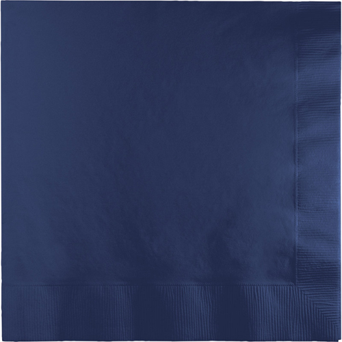 Navy Blue Luncheon Napkins - 600 Count