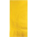 School Bus Yellow Dinner Napkins - 600 Count