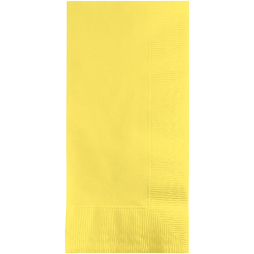 Mimosa Yellow Dinner Napkins - 600 Count