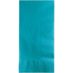 Bermuda Blue 2Ply Dinner Napkins - 1/8 Fold