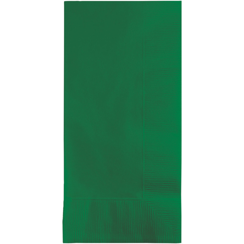 Emerald Green Dinner Napkins - 600 Count