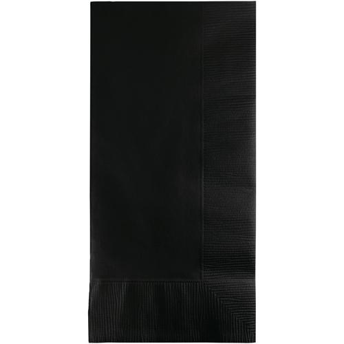 Black Dinner Napkins - 600 Count
