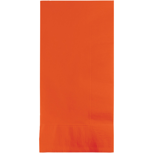 Bittersweet Orange Dinner Napkins - 600 Count