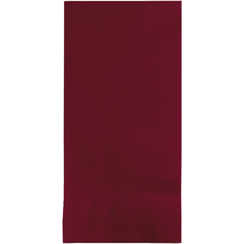 Burgundy Dinner  Napkins - 600 Count