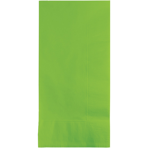 Lime Green Dinner Napkins - 600 Count