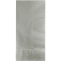 Silver Gray Dinner Napkins - 600 Count