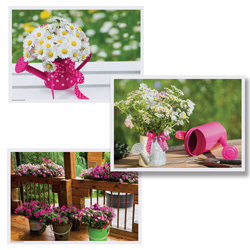 Spring Blossoms Paper Placemats