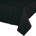 Black Paper Banquet Table Covers - 24 Count