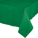 Emerald Green Paper Banquet Table Covers - 24 Count