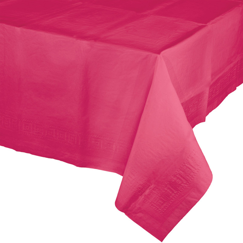 Magenta Paper Banquet Table Covers