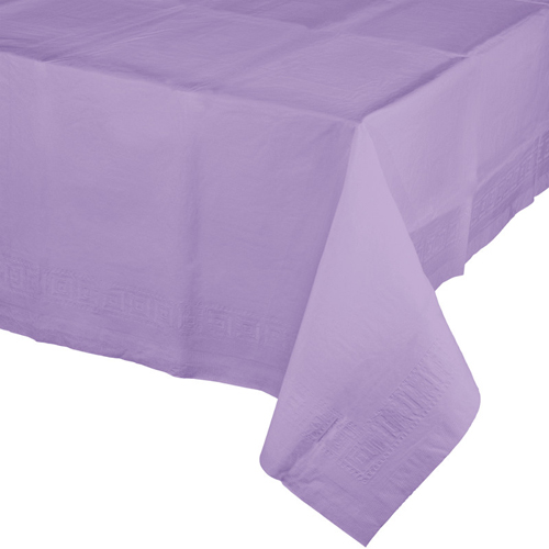 Lavender Paper Banquet Table Covers