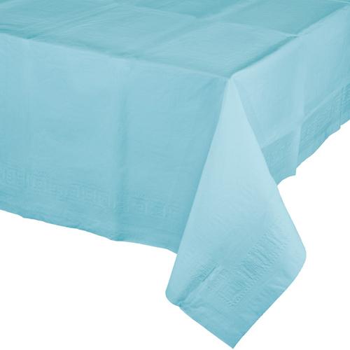 Pastel Blue Paper Banquet Table Covers