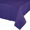 Purple Paper Banquet Table Covers