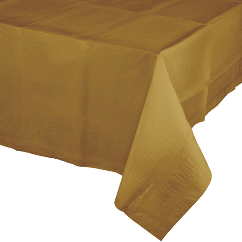 Gold Paper Banquet Table Covers