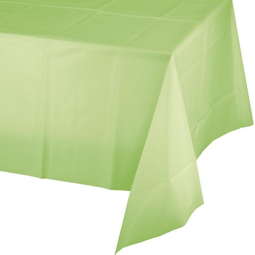 Pistachio Plastic Banquet Table Covers - 12 Count