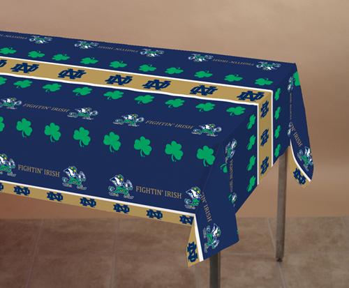 Notre Dame Plastic Banquet Tablecloths