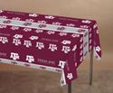 Texas A&M Plastic Banquet Tablecloths
