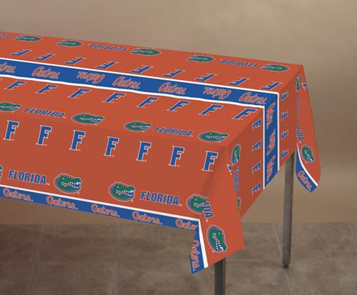 University of Florida Plastic Banquet Tablecloths
