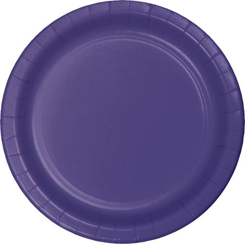Purple Paper Dessert Plates - 900 Count