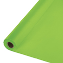 Lime Green Plastic Table Covers Rolls