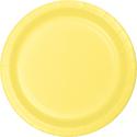 Mimosa Yellow Paper Dessert Plates