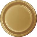 Gold Paper Dessert Plates