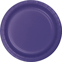Purple Paper Dessert Plates