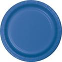 True Blue Paper Dessert Plates
