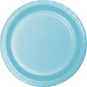 Pastel Blue Paper Dessert Plates